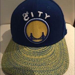 Warriors the city edition cap